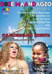 Roza Maandag ZO poster juli 2013