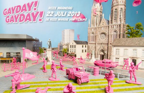 Roze maandag 2013