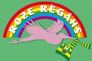 roze reigers