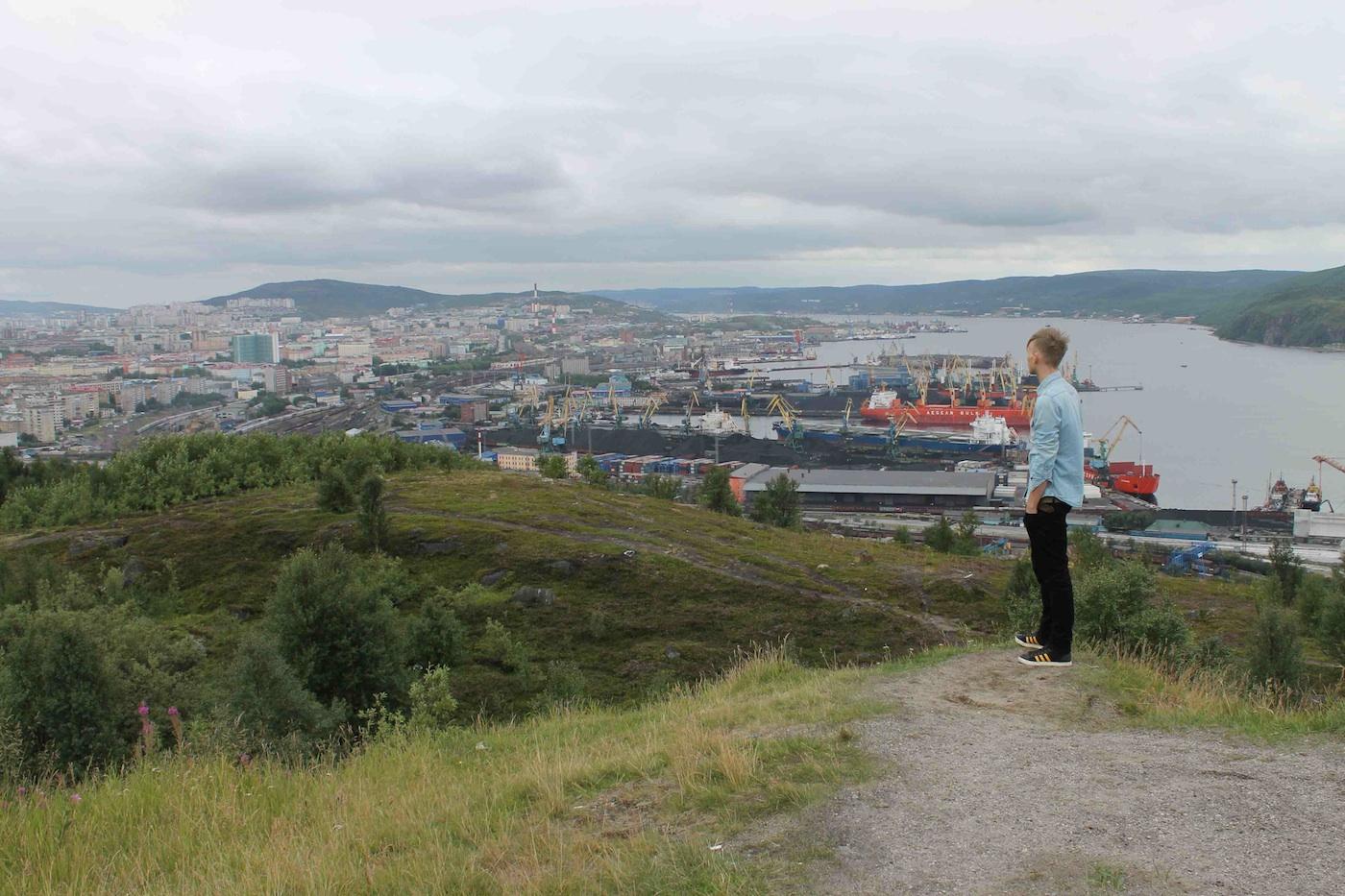 Kris van der Veen in Moermansk