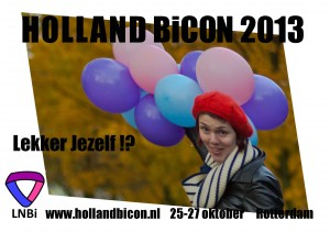 Holland BiCON 2013 - oktober 2013 - COC Amsterdam