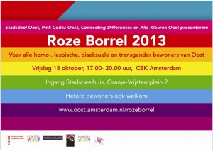 Roze Borrel Amsterdam-Oost
