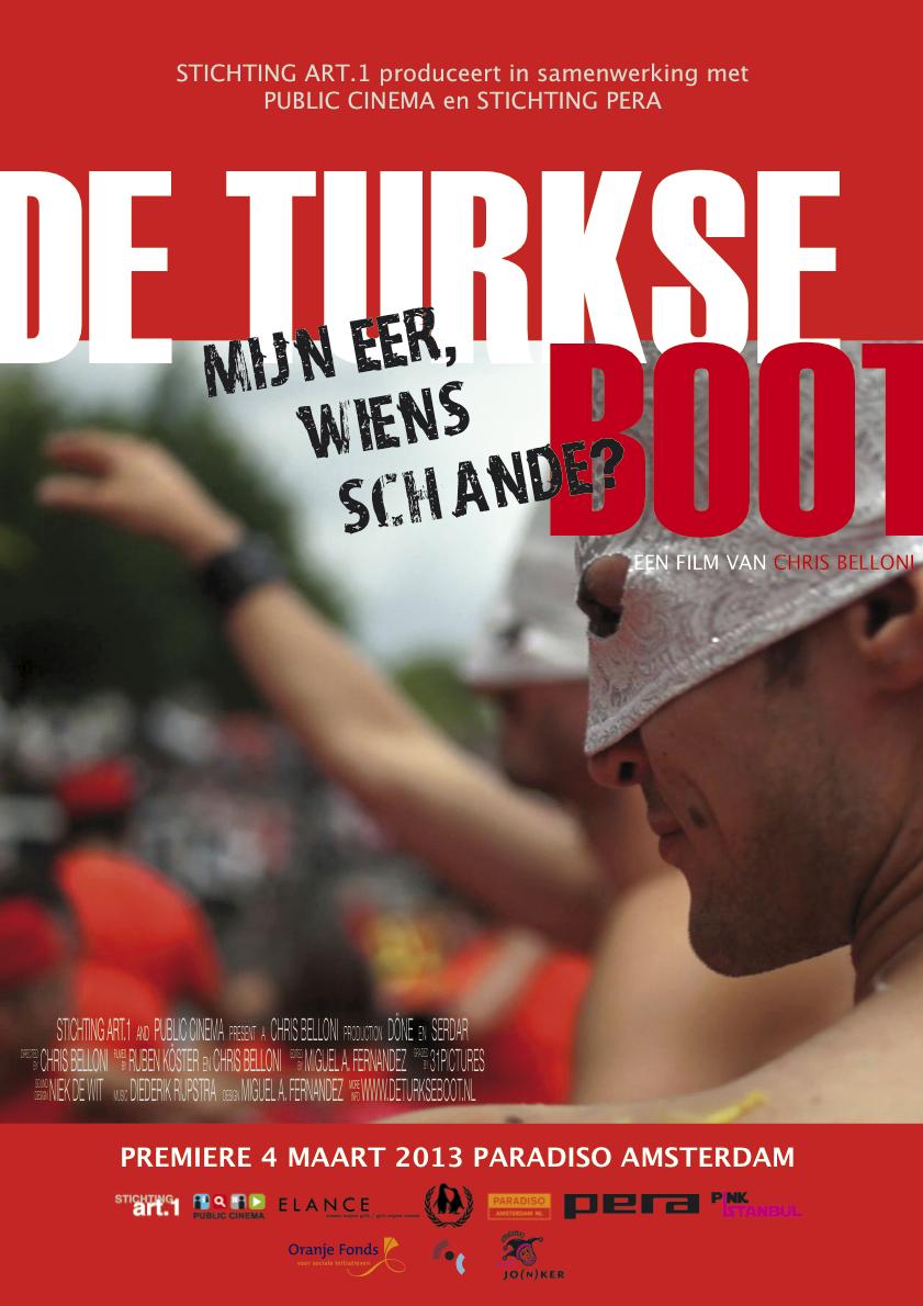 De Turkse boot - poster Paradiso-1