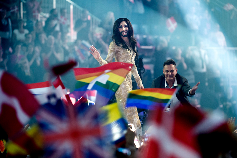 Conchita Wurst - Gay Pride 2014