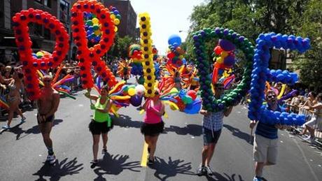 Pride Walk Amsterdam 2014