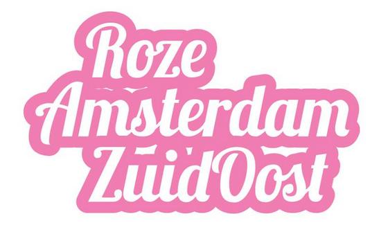 Roze Amsterdam Zuidoost Logo