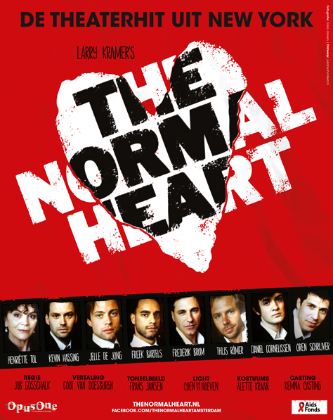 The Normal Heart - 2 tm 10 augustus Amsterdam
