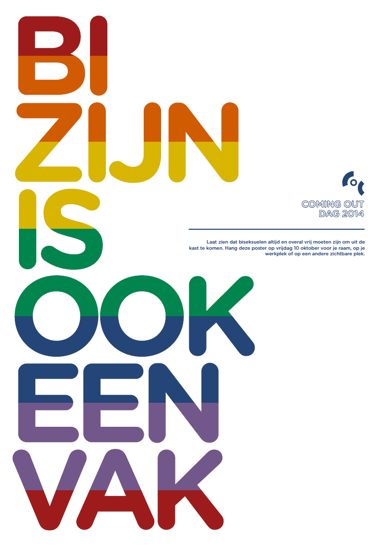 Coming Out Dag 2014 - Biseksualiteit