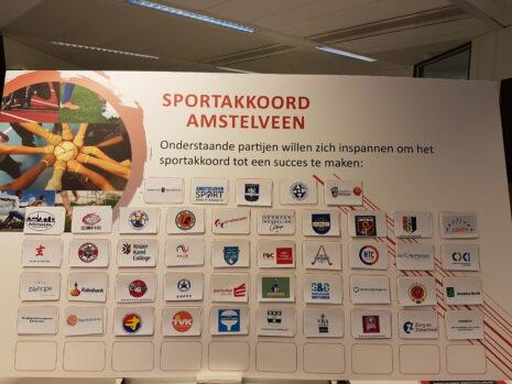 Deelnemers Amstelveens Sportakkoord